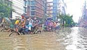 Resolve waterlogging misery of Dhaka dwellers