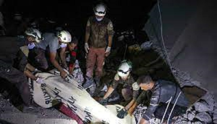 Syria regime fire kills five in rebel bastion: monitor