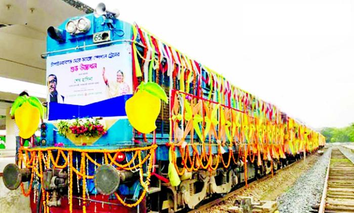 West Zone Railway earns Tk 26.3 lakh through mango transportation