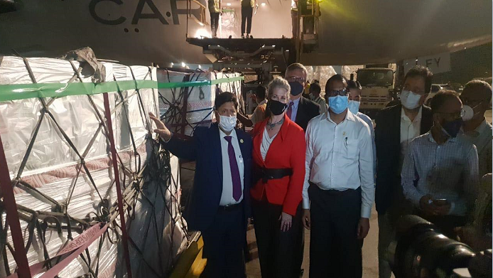 Bangladesh receives additional three million doses of Moderna vaccine from USA through COVAX