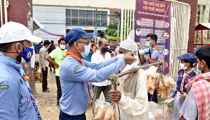 UNDP Scouts launch mask distribution, awareness progs at Cattle markets