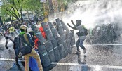 Police fire rubber bullets, tear gas at protesters