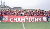 Swadhinata KS emerge as BCL champions
