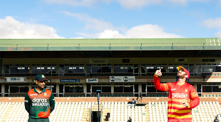 Bangladesh opt to bowl first in 3rd ODI against Zimbabwe
