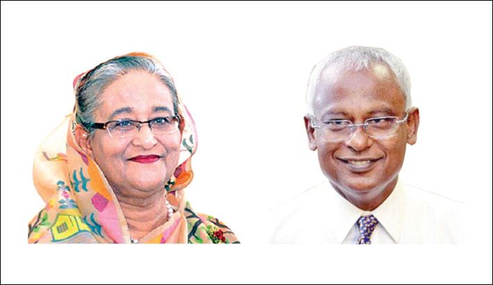PM sends mangoes to Maldives president
