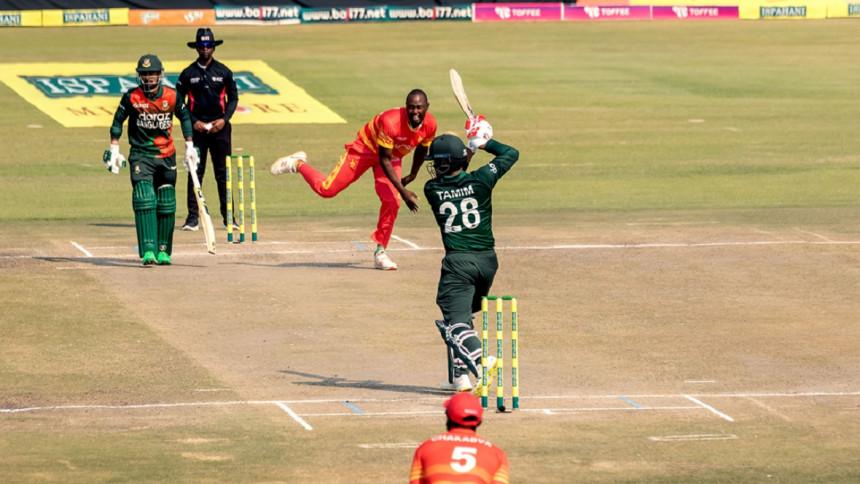 Tamim Iqbal hits14th ODI ton