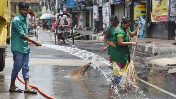 Almost 100pc wastes removed from 33 DSCC wards in 7 hours