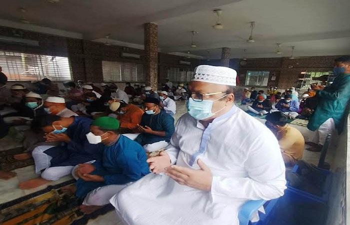 Rajshahi's main Eid congregation held at Dargah Mosque
