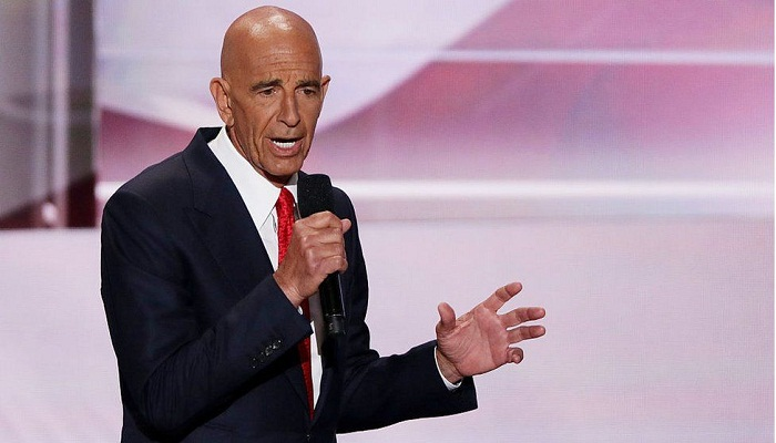 Thomas Barrack: Top Trump aide accused of working as foreign agent