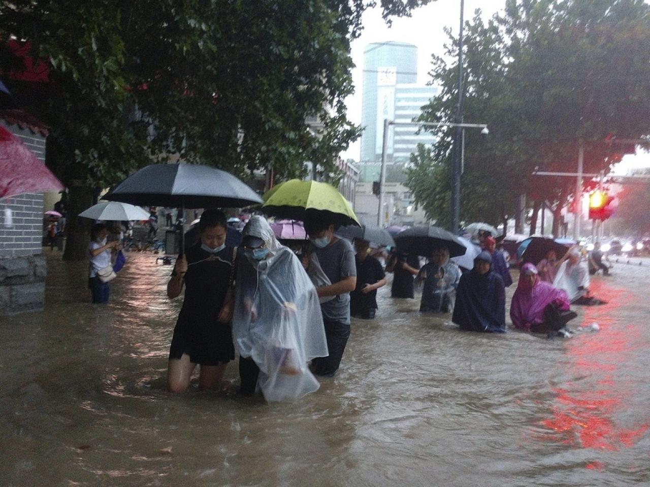 Severe rainstorms kill 16 in central China