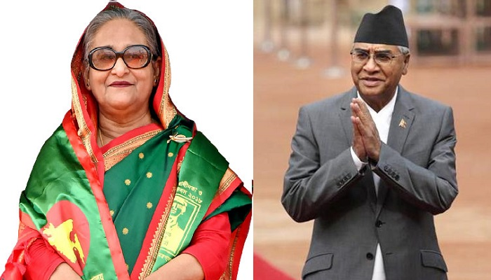 PM congratulates Nepalese PM Deuba, hopes to strengthen ties