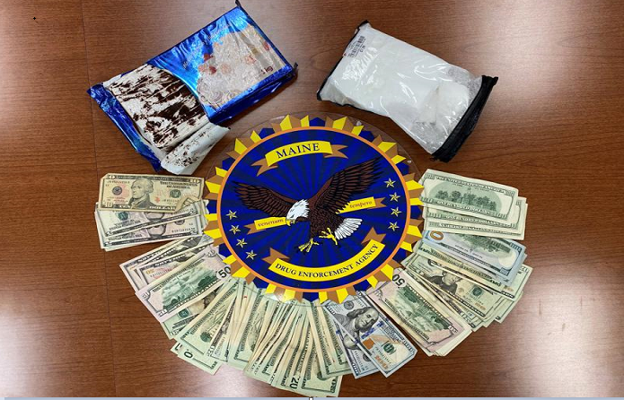 Cocaine disguised as cake seized from vehicle in Maine