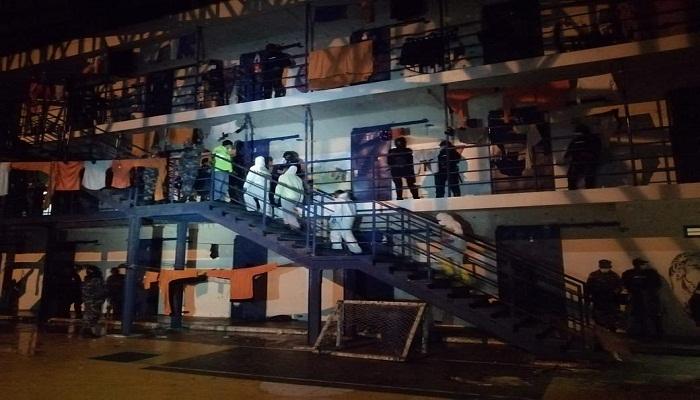 Eight killed in Ecuador prison riots