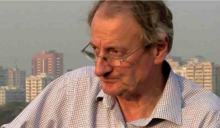 Simon Dring died in his ETV poloshirt, shares partner in emotional Fb post