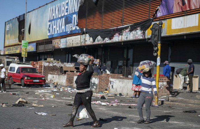 Death toll from South Africa unrest jumps to 337
