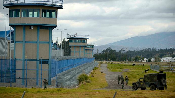 Ecuador declares emergency after 22 killed in prison riots