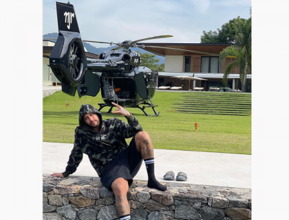 Neymar buys a $ 10 million helicopter