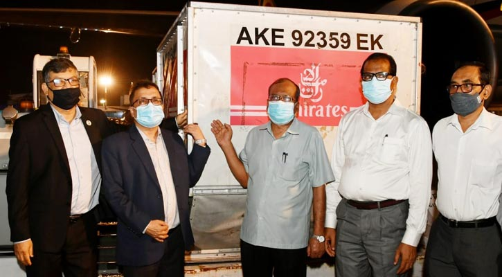 250 US made ventilators arrive via India