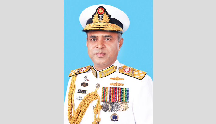 Naval chief leaves for Russia