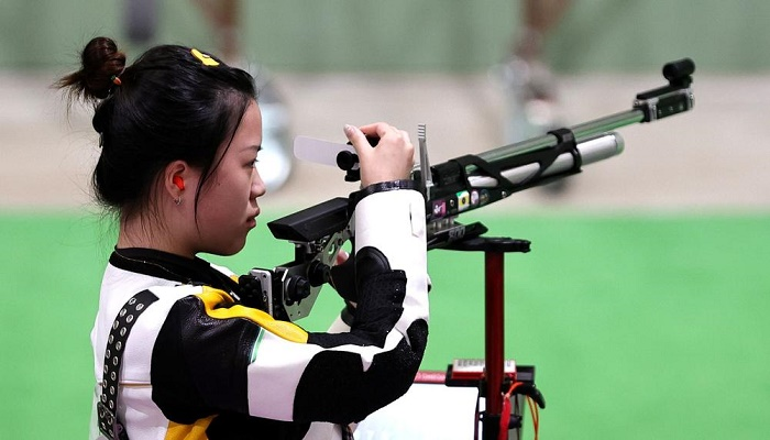 Chinese shooter Yang wins first gold of Tokyo Olympics