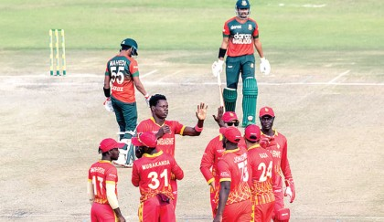 Tigers lose to Zim in 2nd T20
