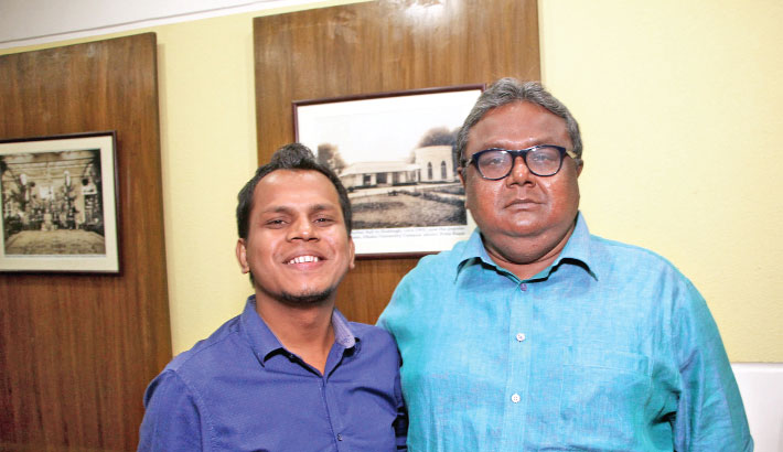 Indraadip composes two songs of Jibon