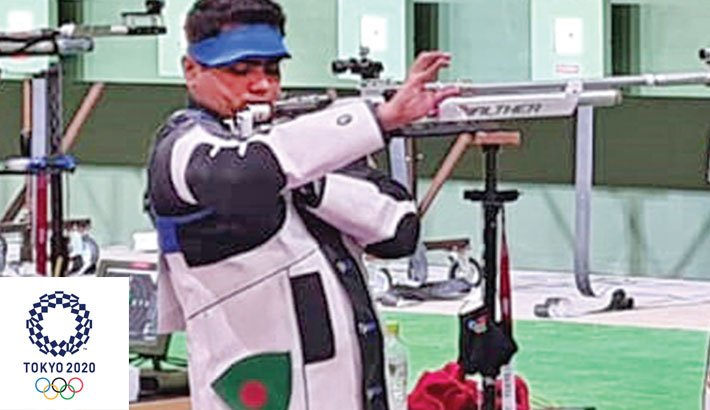 Baki's rifle gets fixed a day before his qualifying event