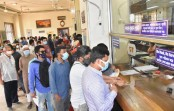Banks open after a four-day break