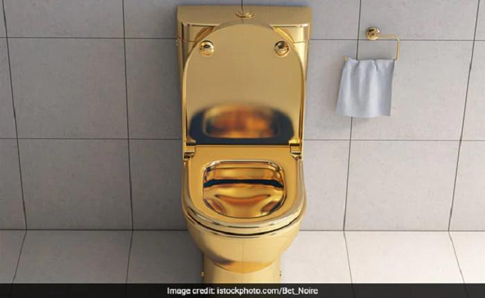 Golden toilet found in cop's mansion during corruption probe