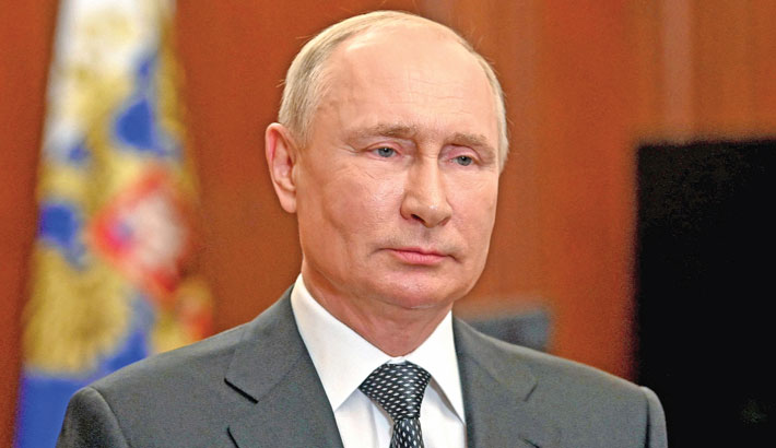 Russian navy can carry out 'unpreventable strike' if needed: Putin