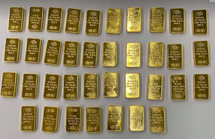 Saudi expat caught with 4.3 kg gold in Dhaka