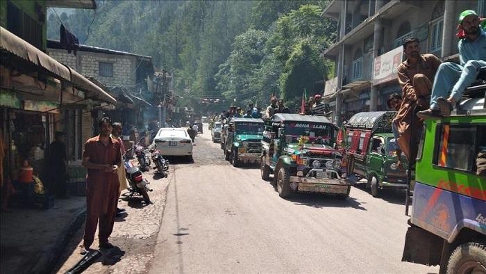 2 killed in Pakistan-administered Kashmir election violence