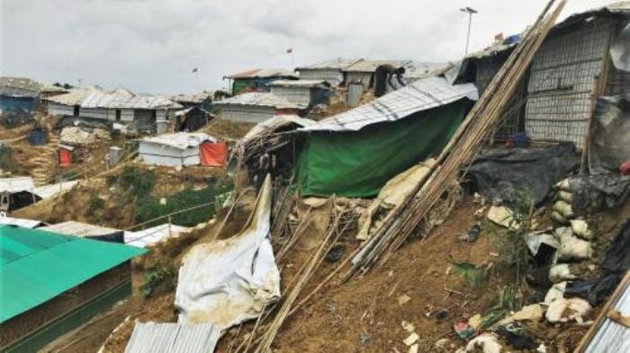 5 killed in landslide at Rohingya camp in Cox's Bazar
