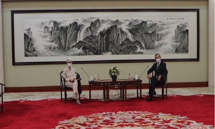 In meeting with Chinese Foreign Minister, US Deputy State Secretary raises concerns over human rights issues