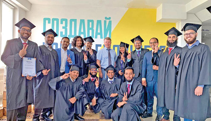 MEPhI holds first graduation ceremony for Bangladeshi students
