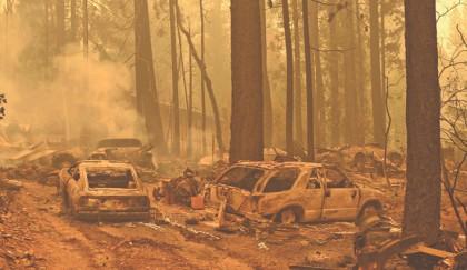 Firefighters battle California wildfire