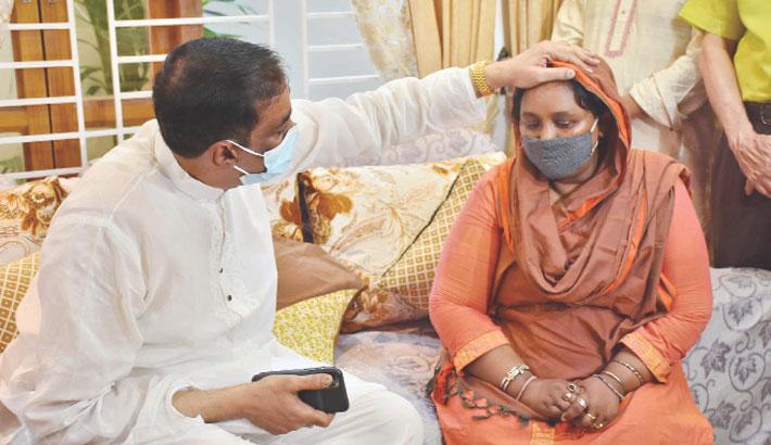 I pray for aunt, Shamim Osman consoles Ivy