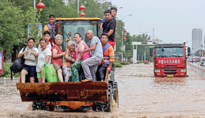 China flood toll rises to 71
