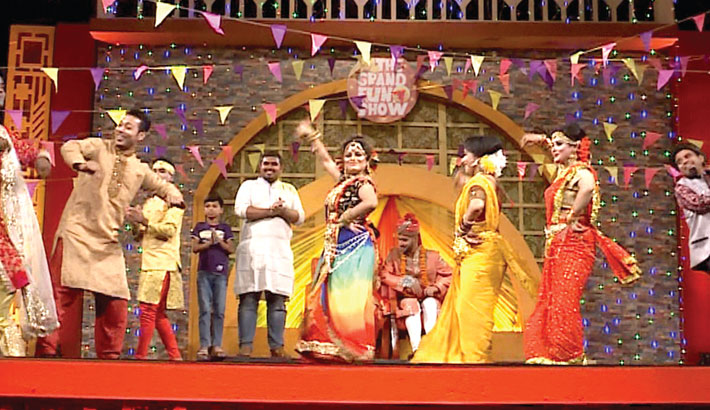 'The Grand Fun Show', an Eid special programme, will be aired on ATN Bangla at 10:30pm today. Actresses Zinia, Misti Maria, Tania Chowdhury, Borna Chowdhury, comedians Irin Adhikari, Amanul Haque Helal, Liton Khondokar and others will be seen performing in the show. Directed by Sayed Tarek, Debashish Biswas will anchor the programme.