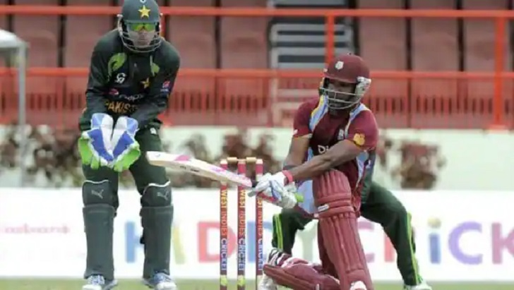 Pakistan send West Indies to bat in first T20