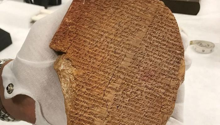 Gilgamesh tablet: US authorities take ownership of artifact