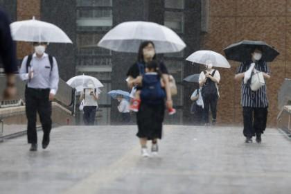 Tropical storm Nepartak makes landfall in northern Japan