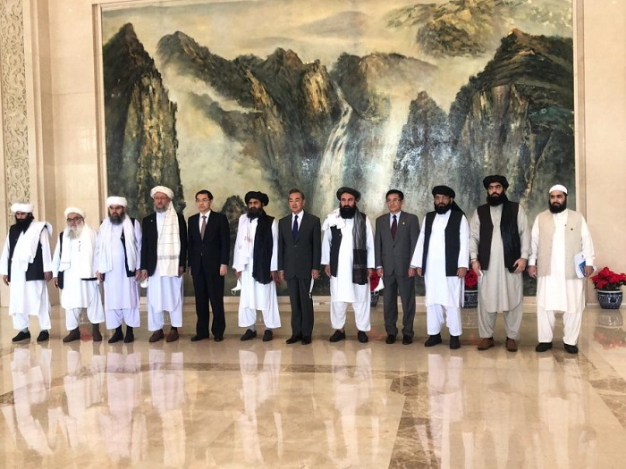 Taliban's delegation visiting China