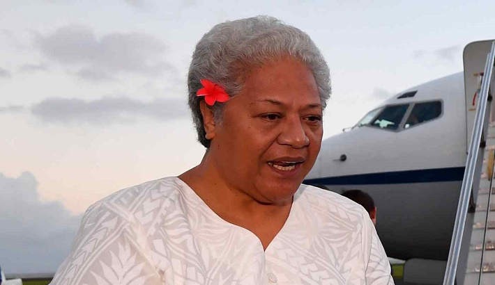 Samoa's first female PM to review costly China-backed projects