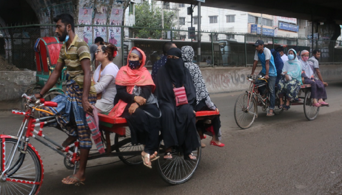 Lockdown Breaches: 568 arrested in Dhaka on 7th day