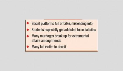 Social media upend life