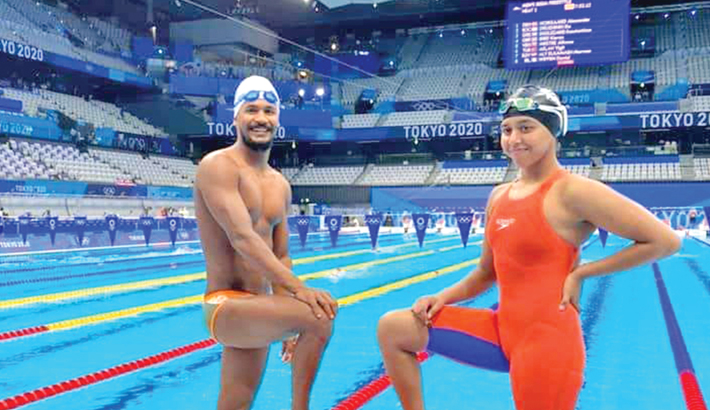 Swimmers Ariful, Junaina's events due today