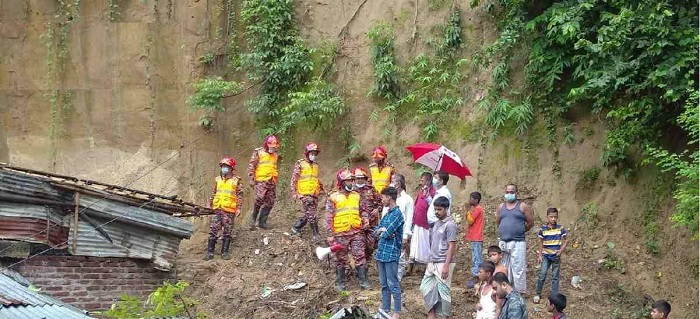 Landslides hit Chattogram, no casualties reported