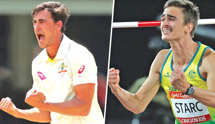 Starc brother in Olympic final