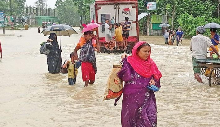 Flood Hits Beach City